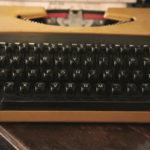 vieille machine à écrire